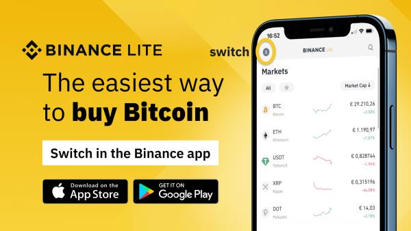 Crypto app Binance