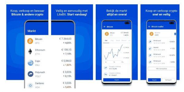 Litebit - beste cryptocurrency app